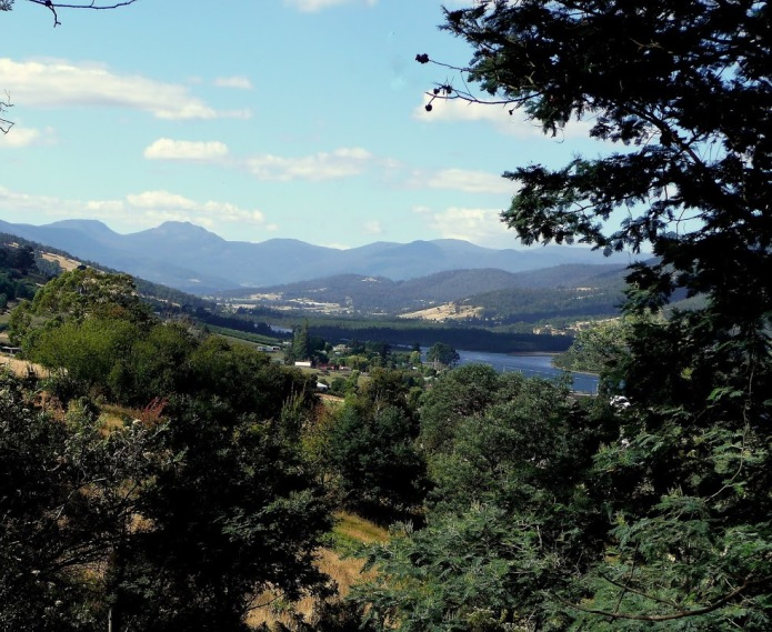 The Huon Valley looking North
